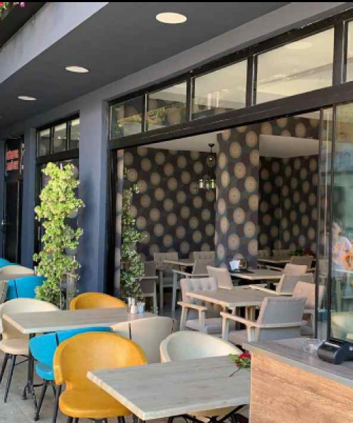 Ice Cafe with Carmo Chairs in Turkey