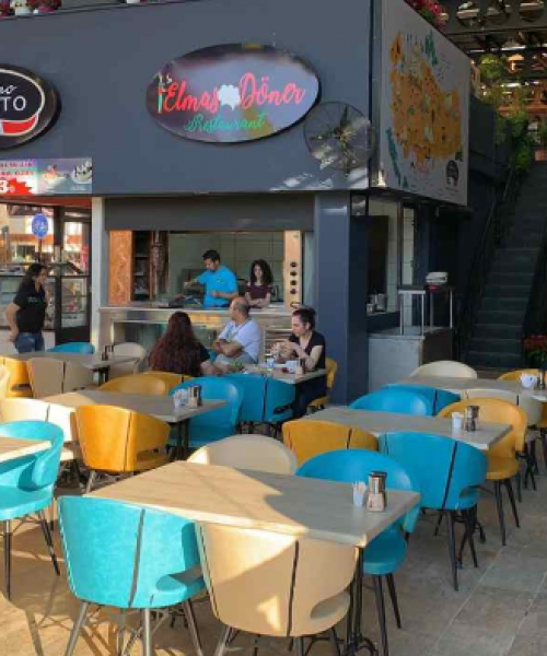 Ice Cafe with Carmo Chairs in Turkey 2